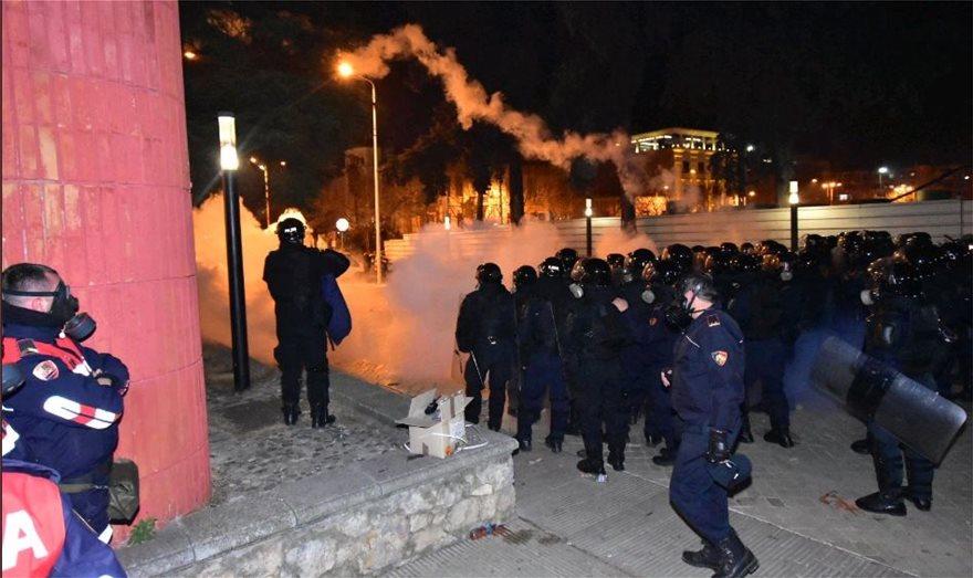Διαδηλώσεις κατά του Έντι Ράμα