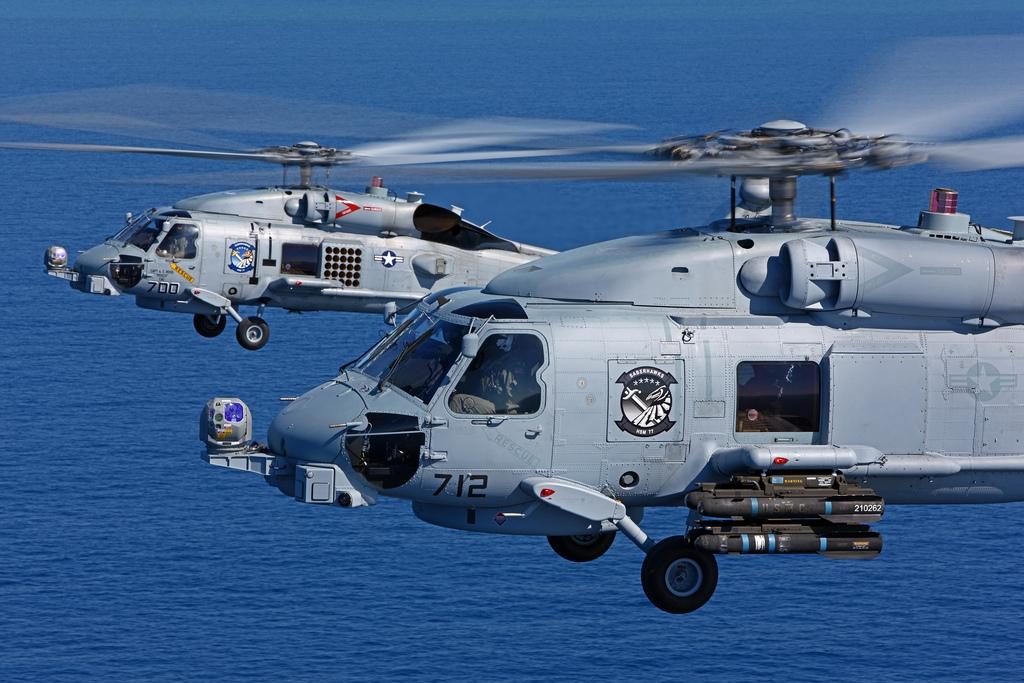 Τέσσερα θανατηφόρα ελικόπτερα ΜΗ-60R αγοράζει το Πολεμικό Ναυτικό μας - Τρομάζει το οπλοστάσιο τους (ΒΙΝΤΕΟ-ΦΩΤΟ)