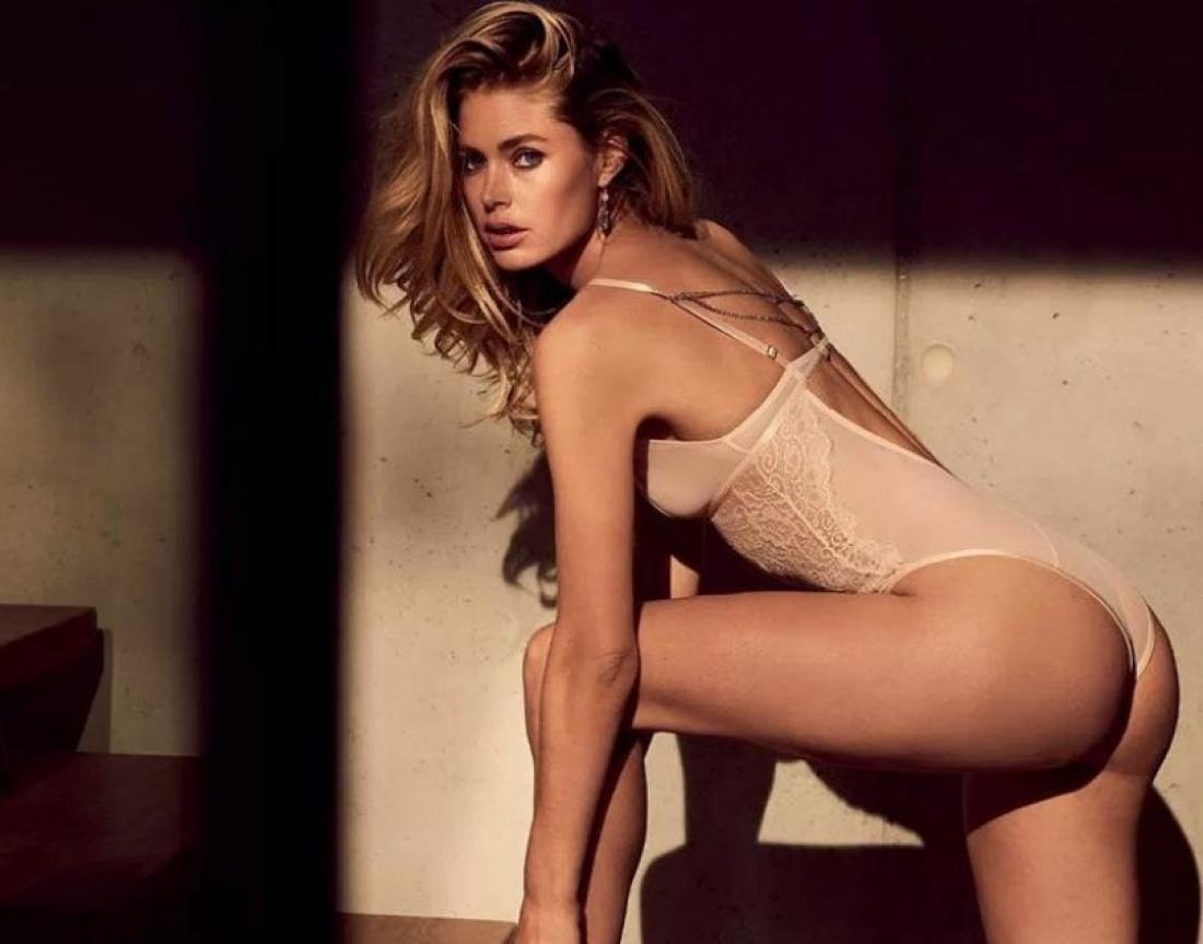 Doutzen Kroes: Με σέξι δαντέλες στο κρεβάτι (ΦΩΤΟ)