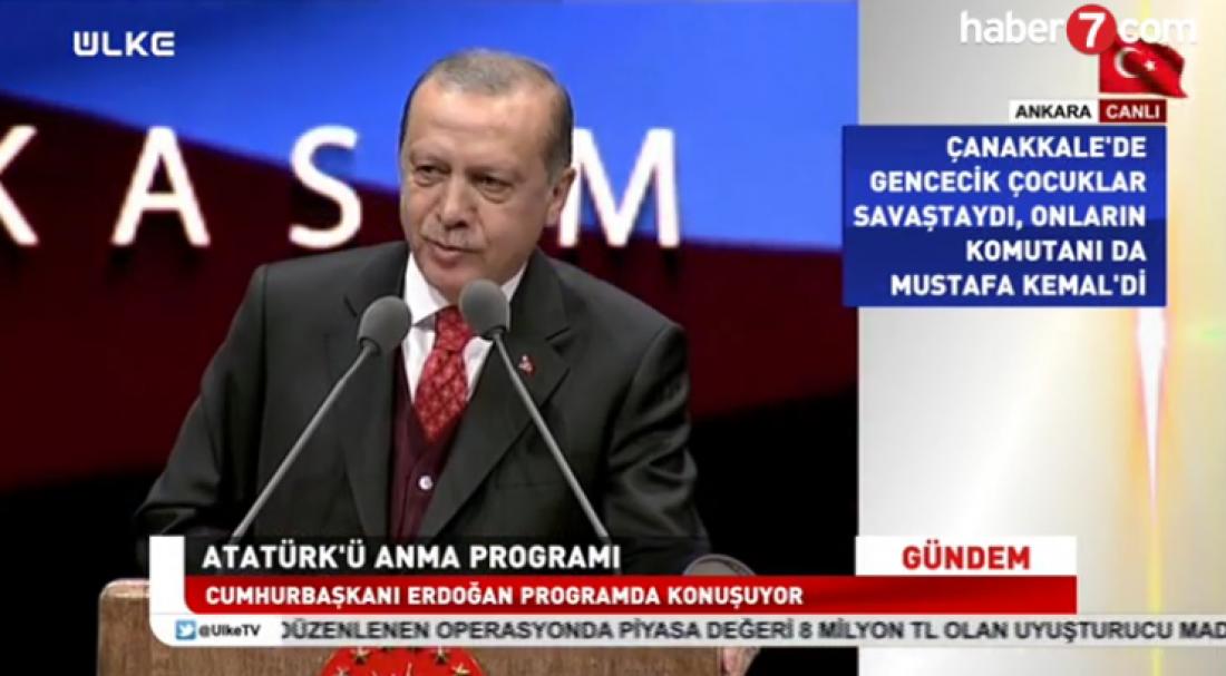 Ερντογάν: Ξεχνούν ότι η σημερινή Τουρκία δεν είναι σαν τη χθεσινή Τουρκία