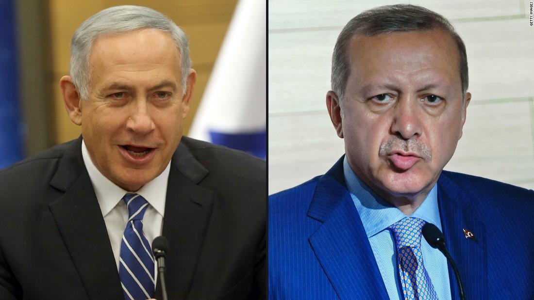 Πόλεμος δηλώσεων Ερντογάν - Νετανιάχου