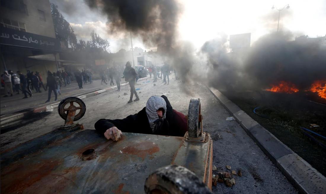 """Μέση Ανατολή: Δύο νεκροί στη διάρκεια της """"Ημέρας της οργής"""" - Απομόνωση των ΗΠΑ στο Συμβούλιο Ασφαλείας"""