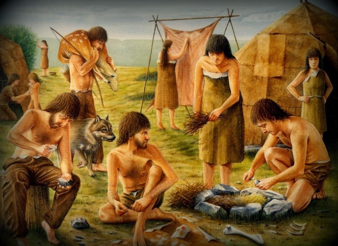 Στην εποχή του προϊστορικού ανθρώπου οι παραμυθάδες ήταν περιζήτητοι... γαμπροί