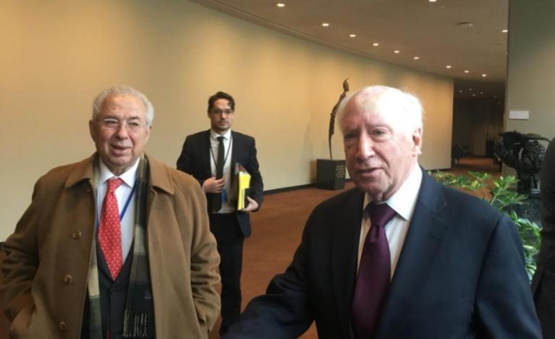 Νίμιτς: Μη ρεαλιστική η λύση χωρίς το όνομα «Μακεδονία»-Ολοκκληρώθηκε η συνάντηση στα Ηνωμένα Έθνη -Αισιόδοξος και προκλητικός  ο Σκοπιανός υπουργός Εξωτερικών