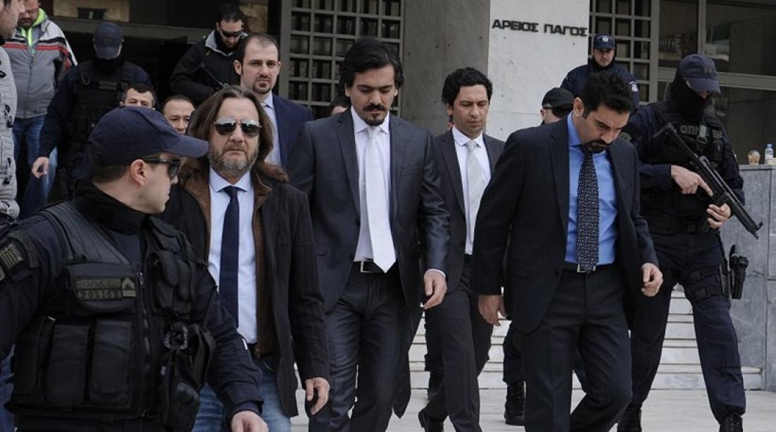 Κοινή δήλωση μέσω των δικηγόρων τους κατέθεσανοι 8 Τούρκοι αξιωματικοί