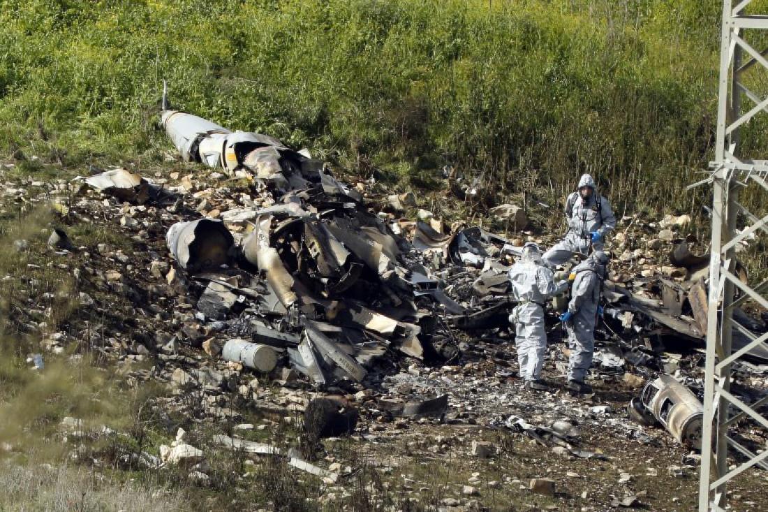 """""""φωτιά"""" στη Μέση Ανατολή - Ισραηλινό μαχητικό F-16 καταρρίφθηκε από τη Συρία"""