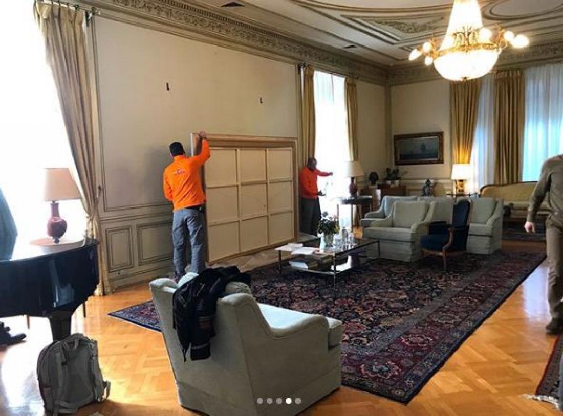 Αλλάζει διακόσμηση το Μαξίμου - Φωτό από το instagram του πρωθυπουργού