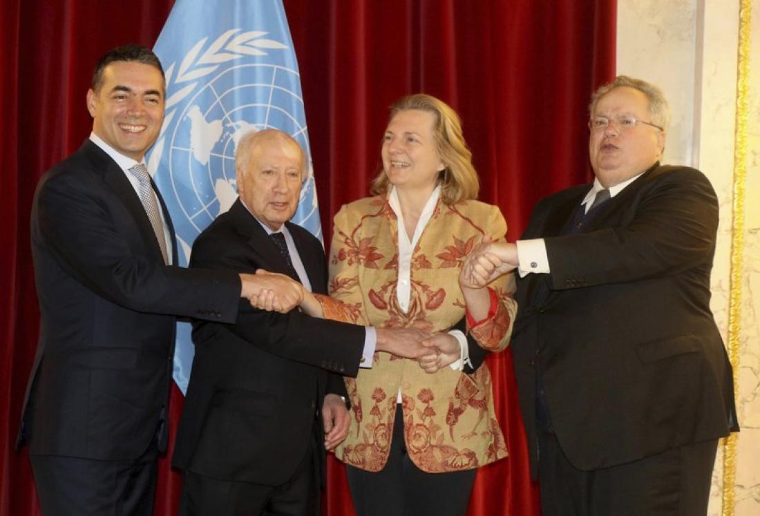 Ονομασία ΠΓΔΜ: Αινιγματικός εμφανίστηκε για ακόμα μια φορά οειδικός διαμεσολαβητής του ΟΗΕ