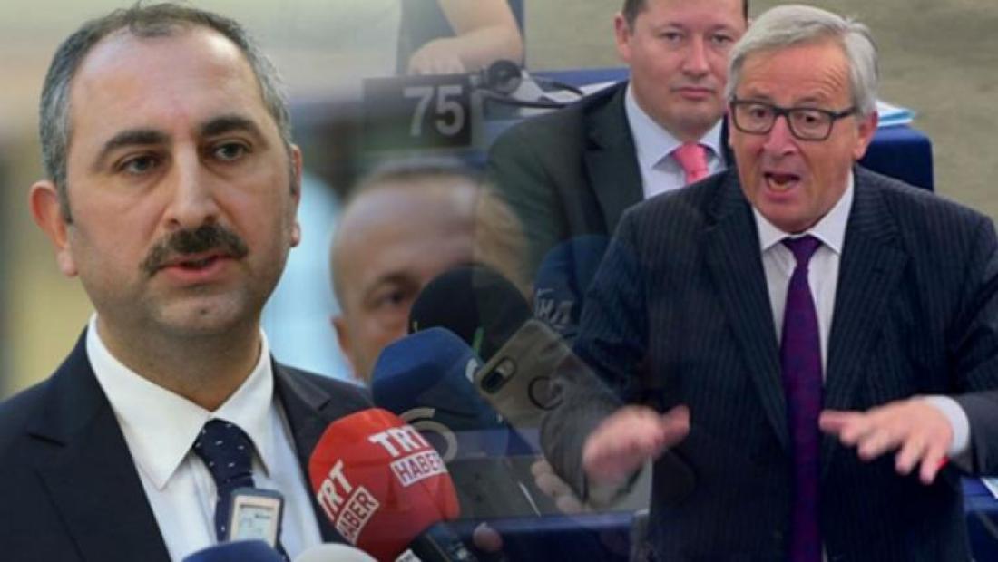 Δεν άφησε αναπάντητα τα όσα είπε ο Ζαν Κλοντ Γιούνκερ στην ελληνική Βουλή για την απελευθέρωση των Ελλήνων στρατιωτικών η Τουρκία