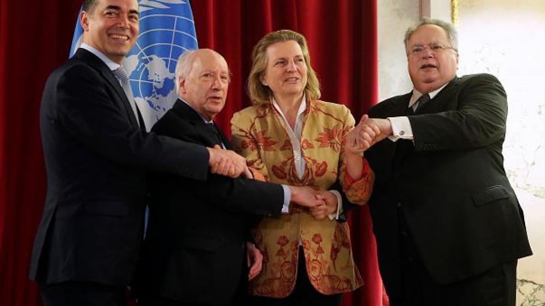 Σκοπιανό: Πλησιάζει η συμφωνία για το όνομα-Το μπαλάκι... στους Πρωθυπουργούς!