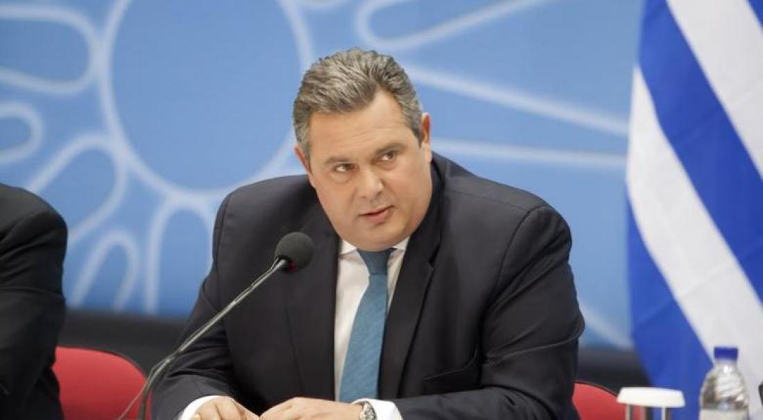 Πάνος Καμμένος: Δεν θα έλθει στην Βουλή καμία συμφωνία αν προηγουμένως δεν έχουν γίνει αλλαγές στο Σύνταγμα της ΠΓΔΜ