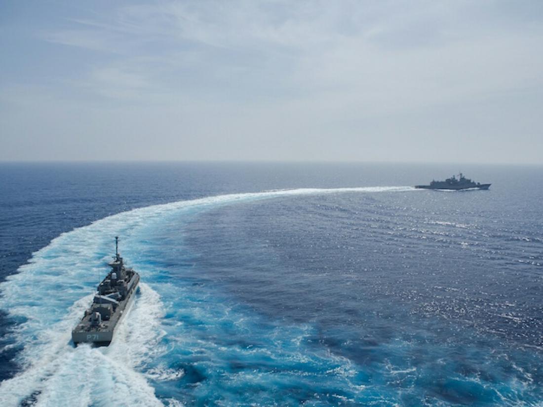 Πόσο πιο προκλητικό...Οι Τούρκοι δεσμεύουν δύο περιοχές στο Αιγαίο και  καλούν επίσημα να συμμετάσχει σκάφος της Ακτοφυλακής του ψευδοκράτους (ΧΑΡΤΕΣ)