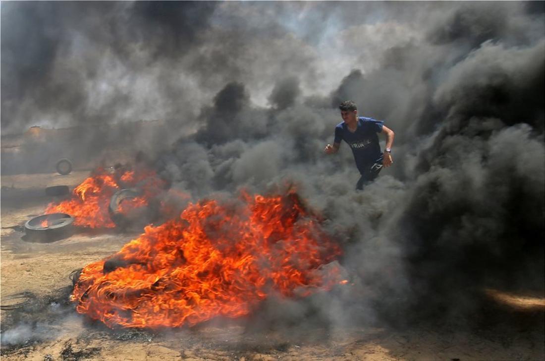 Μακελειό στη Γάζα: 38 νεκροί Παλαιστίνιοι λίγο πριν το άνοιγμα της πρεσβείας των ΗΠΑ στην Ιερουσαλήμ-Ανάμεσα στους νεκρούς  ένα 14χρονο παιδί και ένας που βρισκόταν σε αναπηρικό καροτσάκι (ΦΩΤΟ-ΒΙΝΤΕΟ)