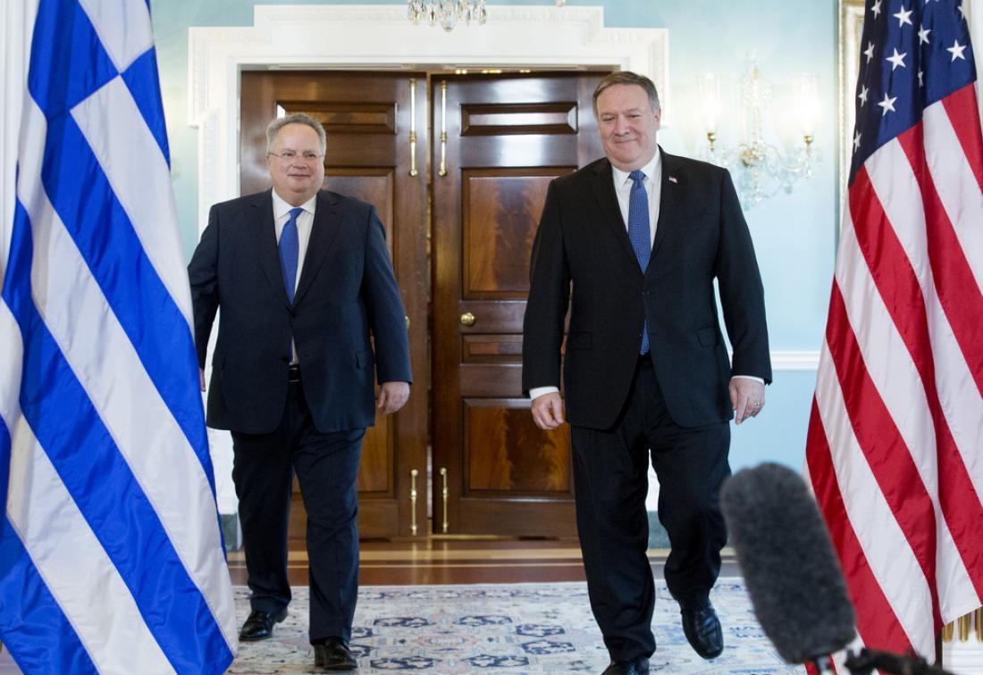 Ελληνοτουρκικά, Κυπριακό, οι τομείς της ασφάλειας, της ενέργειας και της τεχνολογίας στο τετ α τετ Κοτζιά-Πομπέο