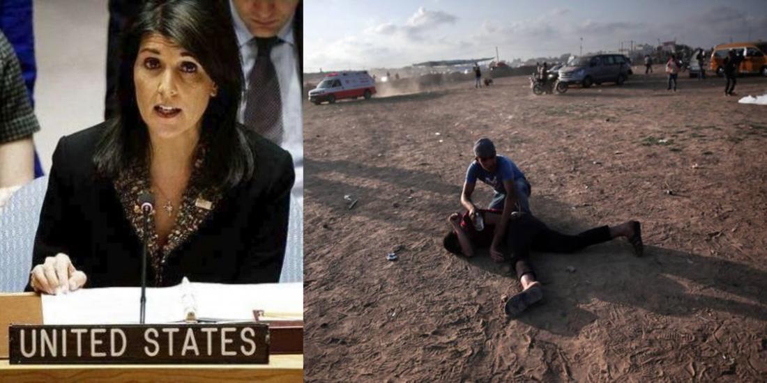 """Σοκάρουντα όσα είπε στον ΟΗΕη πρέσβειρα των ΗΠΑ στον Οργανισμό Ηνωμένων Εθνών που ουσιαστικά """"βγάζει λάδι"""" τον στρατό του Ισραήλ για την αιματοχυσία στην Γάζα-Πόλεμος Τουρκίας-Ισραήλ"""