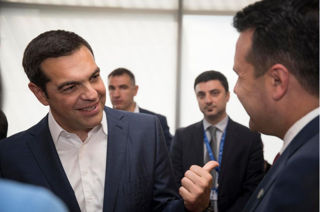 Με εγγυητή την ΕΕ πιθανή συμφωνία για Σκοπιανό - Κρίσιμη συνάντηση Τσίπρα - Ζάεφ