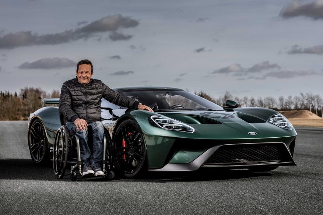 Ο Jason Watt, πρώην οδηγός αγώνων από τη Δανία , αποφάσισε να συναντήσει την ομάδα της Ford στο Le Mans (ΒΙΝΤΕΟ)