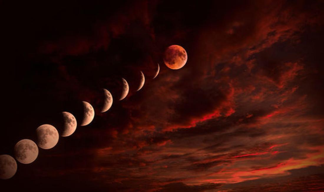 Έρχεται το «ματωμένο φεγγάρι» - Ολική έκλειψη σελήνης σήμερα!