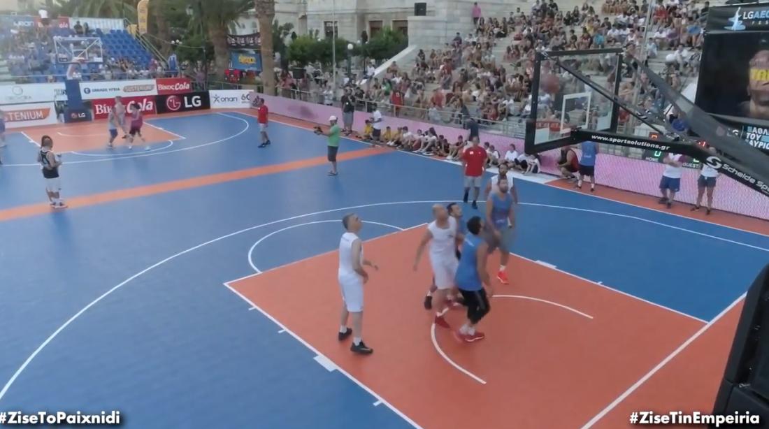 Image result for 3 on 3 Τουρνουά Μπάσκετ στη Σύρο με τον ΟΠΑΠ