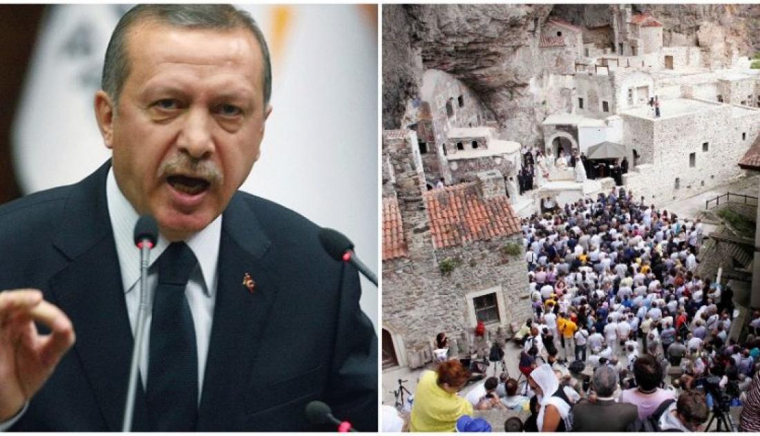 Ο Ερντογάν απαγορεύει στην Παναγία Σουμελά να λειτουργήσει τον Δεκαπενταύγουστο και αποκαλύπτει το πρόσωπο που θα δούμε μετά την επανεκλογή του