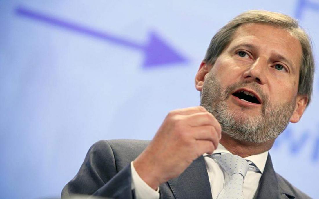 Ο Ευρωπαίος Επίτροπος Χαν προαναγγέλλει αλλαγή συνόρων με την Αλβανία