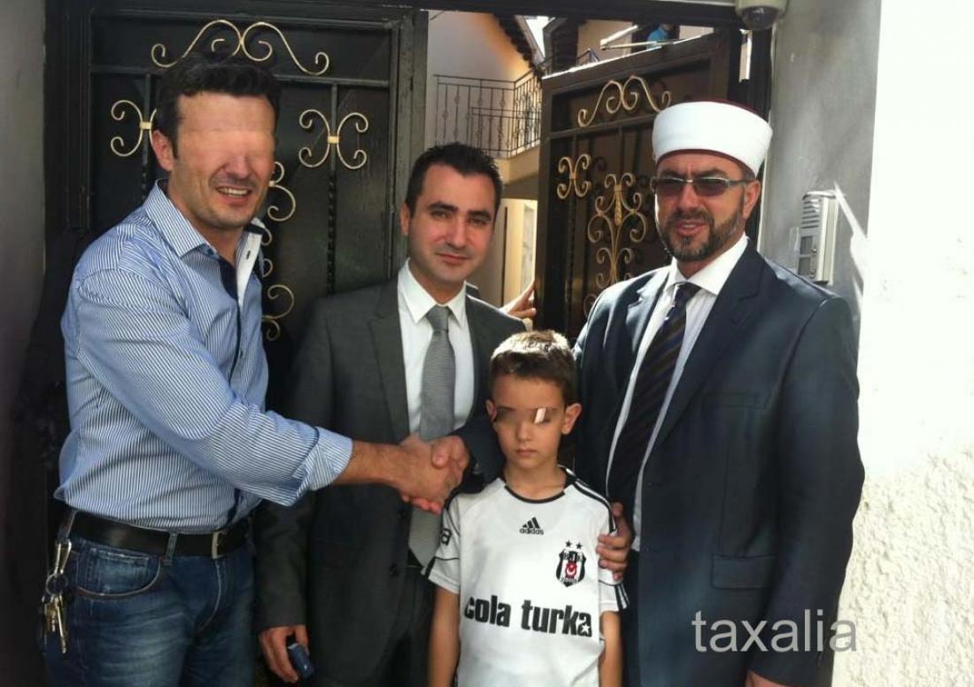 Νέος Μουφτής Ξάνθης Μπιλάλ Καρά Χαλήλ που έχει μηνύσει το Τουρκικό Προξενείο της Κομοτηνής