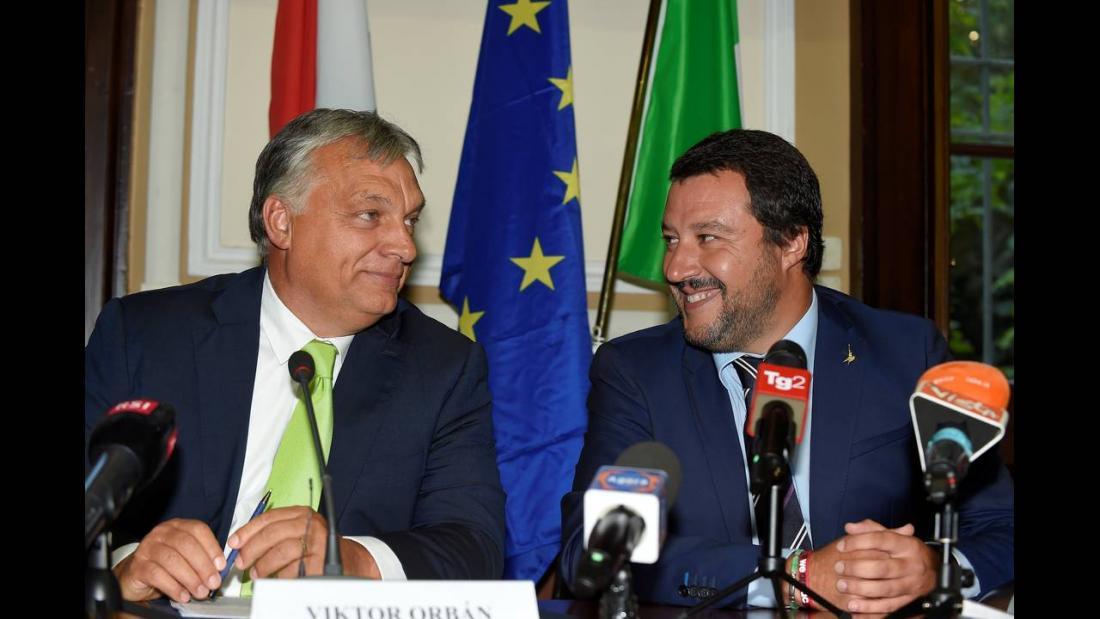 Ιταλία και Ουγγαρία δημιουργούν «άξονα κατά της μετανάστευσης»