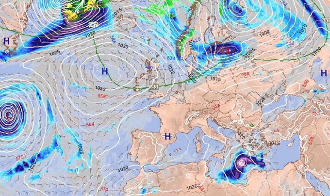 Σε μερικές ώρες θα «χτυπήσει» ο Μεσογειακός Κυκλώνας «Ζορμπάς» στη χώρα μας – Ποιες περιοχές θα χτυπηθούν – Προσοχή και στην Αττική – Συναγερμός για το σπάνιο φαινόμενο (ΒΙΝΤΕΟ)