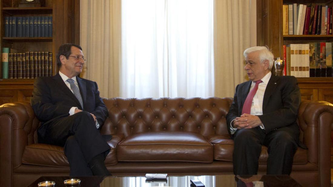 Παυλόπουλος: Η απαράδεκτη εκκρεμότητα του Κυπριακού πρέπει να τελειώσει