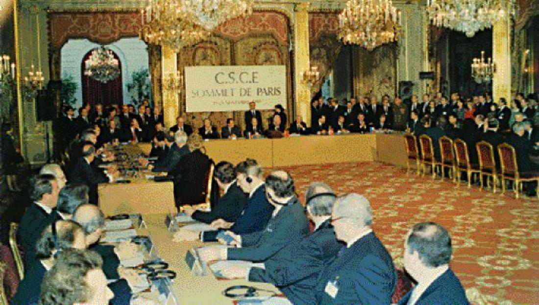 Σαν σήμερα21 Νοεμβρίου 1990 τελείωσε ο «Ψυχρός Πόλεμος» μεταξύ ΝΑΤΟ και Συμφώνου της Βαρσοβίας