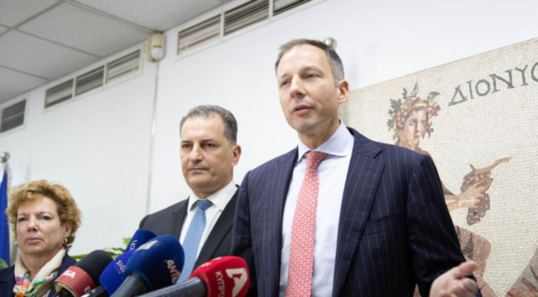 Ο Φάνον στέλνει μήνυμα στην Τουρκία: Οι ΗΠΑ στηρίζουν τις έρευνες της Κυπριακής Δημοκρατίας στην ΑΟΖ της