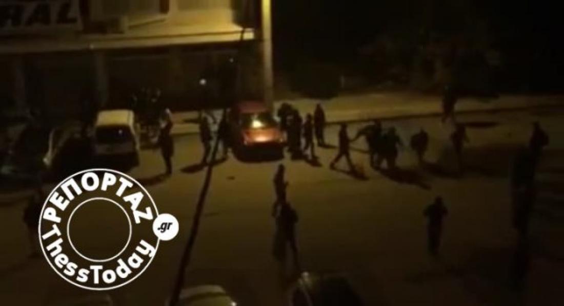 Νέες συμπλοκές μεταξύ αλλοδαπών στη Θεσσαλονίκη