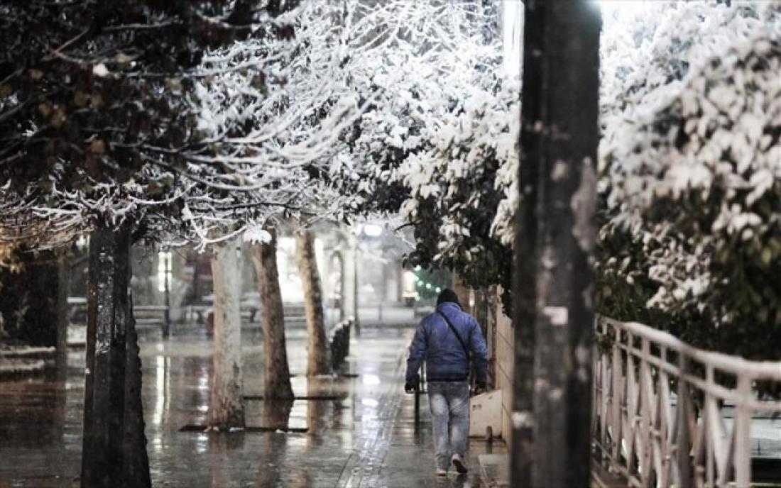 ac5072c0a65 ΚΑΙΡΟΣ 14/1/2019: Χιόνια, παγετός και καταιγίδες στα δυτικά   ΕΛΛΑΔΑ ...