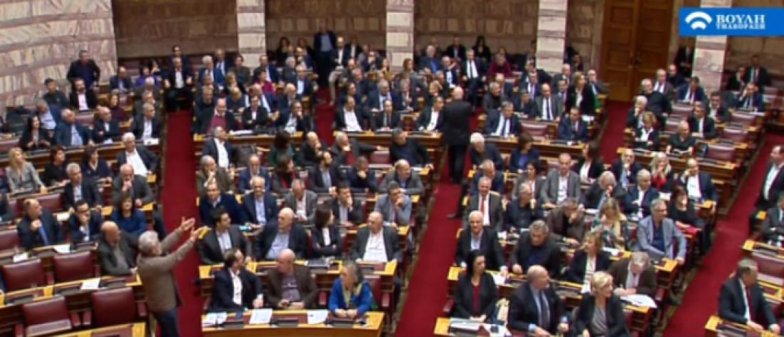 Ολοκληρώθηκε στην Ολομέλεια της Βουλής η ψηφοφορία για την κύρωση της Συμφωνίας των Πρεσπών