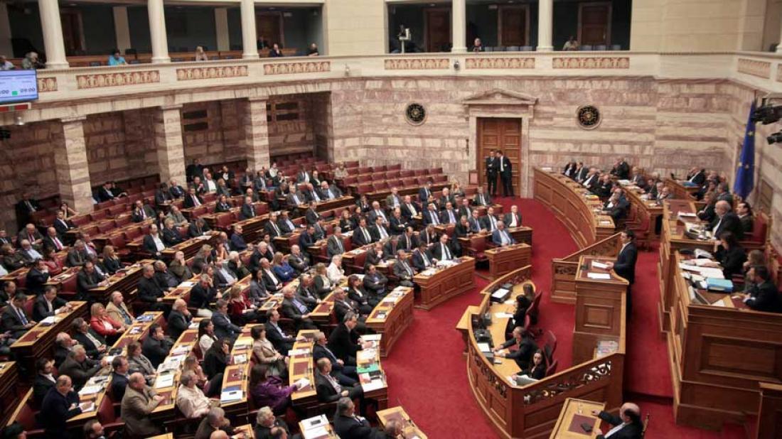 Αποτέλεσμα εικόνας για ονομαστικη φανερη ψηφοφορια βουλη
