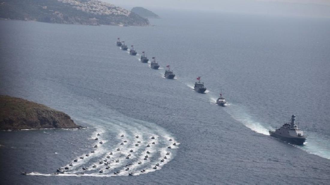 Οι Τούρκοι αρχίζουν να κλείνουν περιοχές στο Αιγαίο με την μέθοδο των προασκήσεων