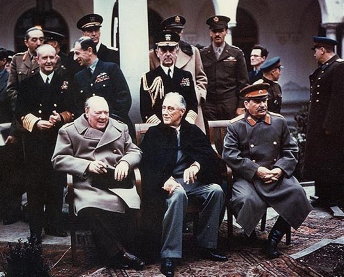 Σαν σήμερα 4 Φεβρουαρίου 1945 αρχίζει η διάσκεψη της Γιάλτας
