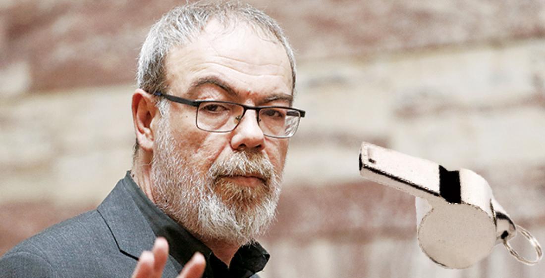 Κυρίτσης: Λανθασμένη η δήλωση μου για τους νεκρούς και τις μολότοφ