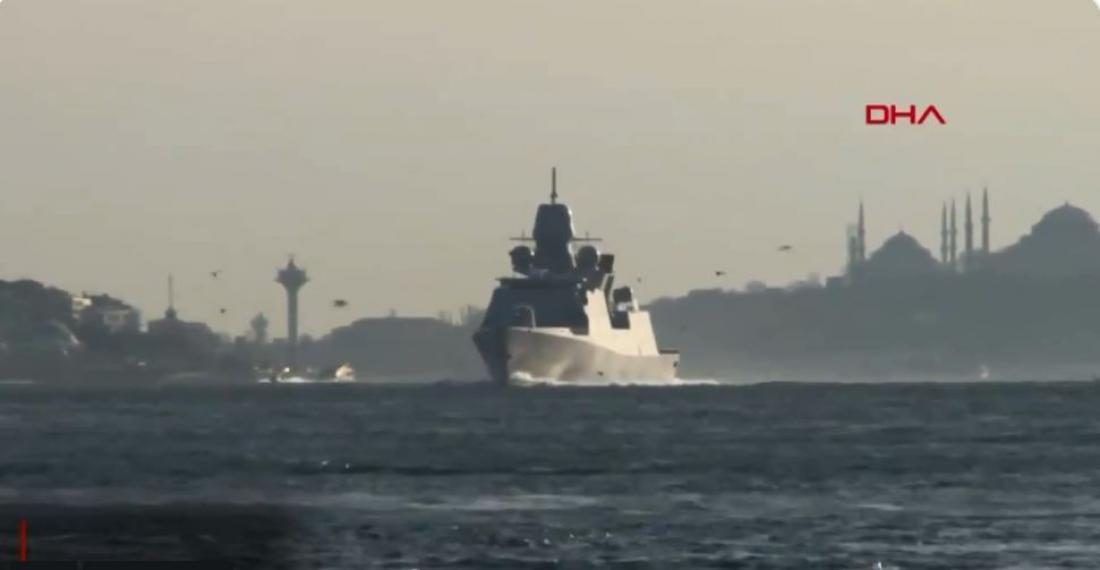 Ρωσικά πλοία ακολούθησαν πολεμικά πλοία του ΝΑΤΟ με την είσοδό τους στη Μαύρη Θάλασσα