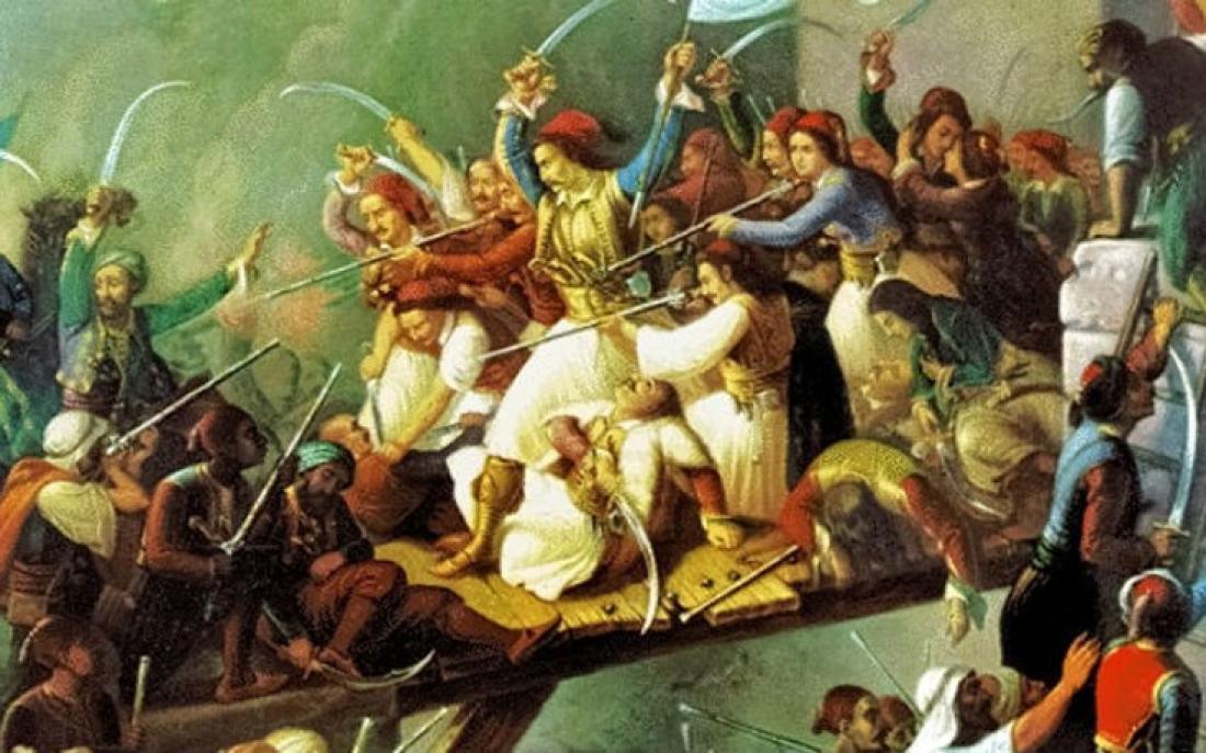 Σαν σήμερα 10 Απριλίου 1826 έγινε η ηρωική Έξοδος του Μεσολογγίου