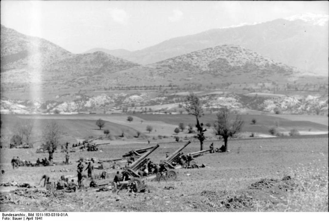 Σαν σήμερα6 Απριλίου ηναζιστική Γερμανία επιτίθεται στην Ελλάδα