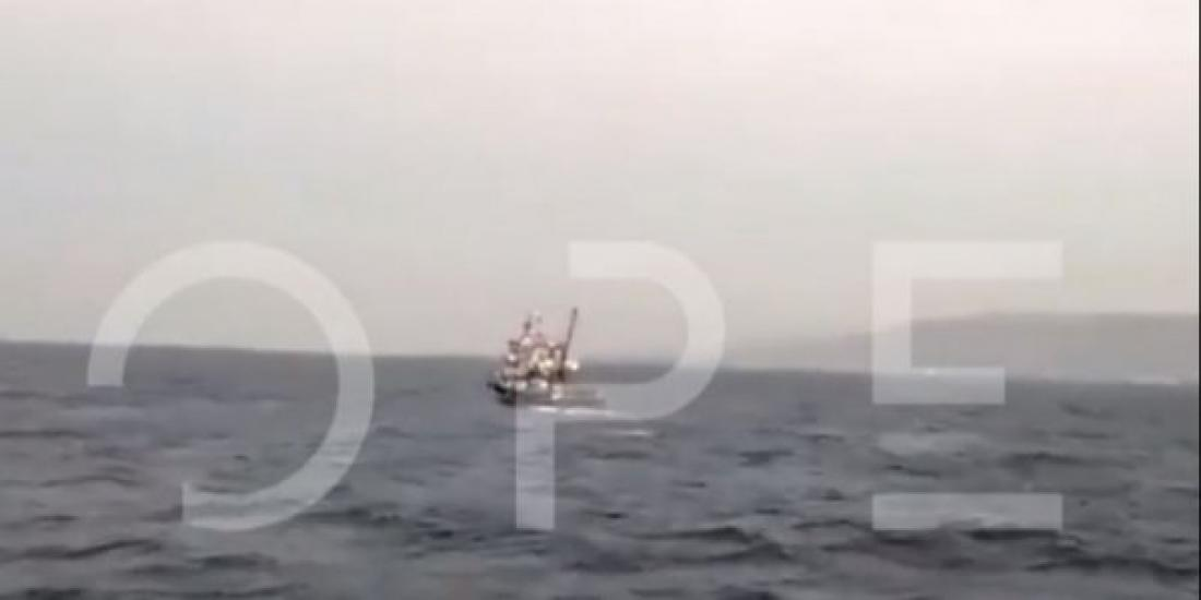 Τούρκοι ψαρεύουν προκλητικά ανενόχλητοι, μια ανάσα από την Ψέριμο-Βίντεο ντοκουμέντο