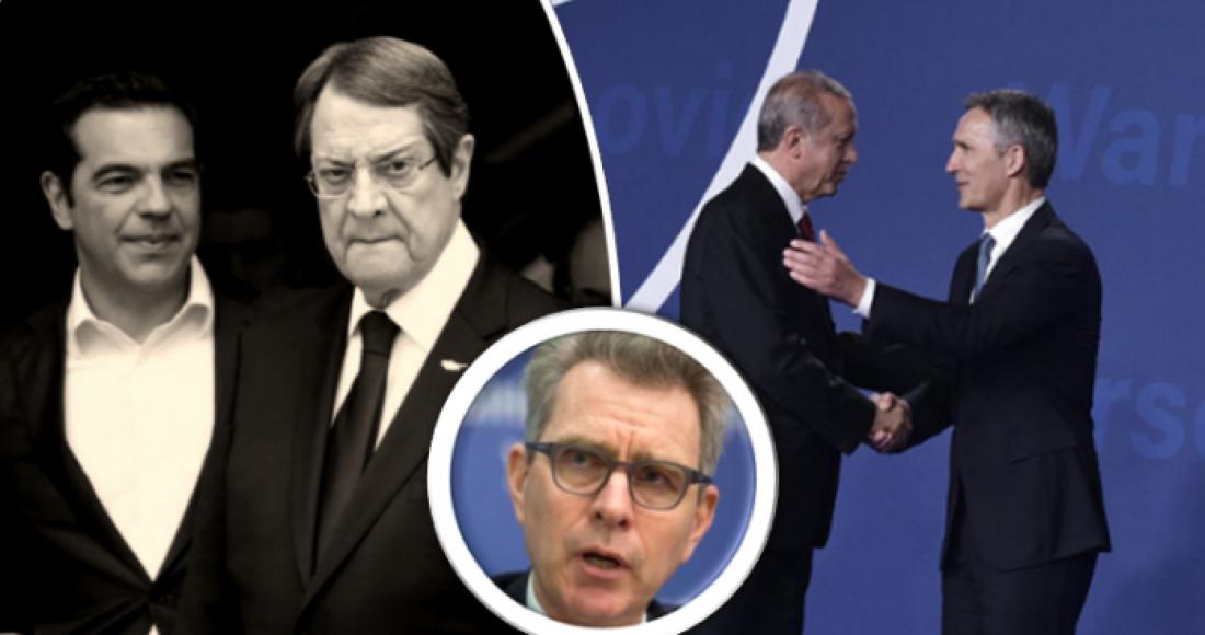 Ψυχρολουσία «made in USA»! Για συμφωνία «win win» με την Τουρκία... συμβουλεύει τώρα την Ελλάδα ο Τζέφρι Πάιατ