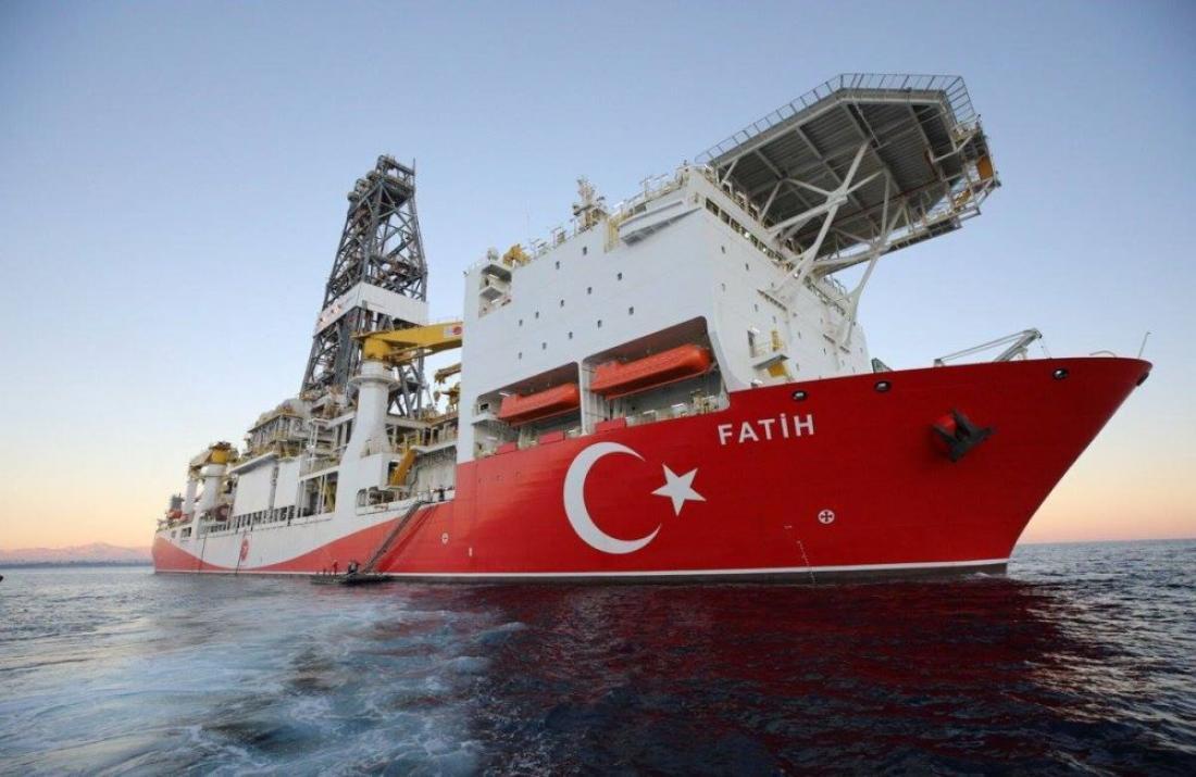 Ξεκίνησαν τις γεωτρήσεις οι Τούρκοι στην Κυπριακή ΑΟΖ
