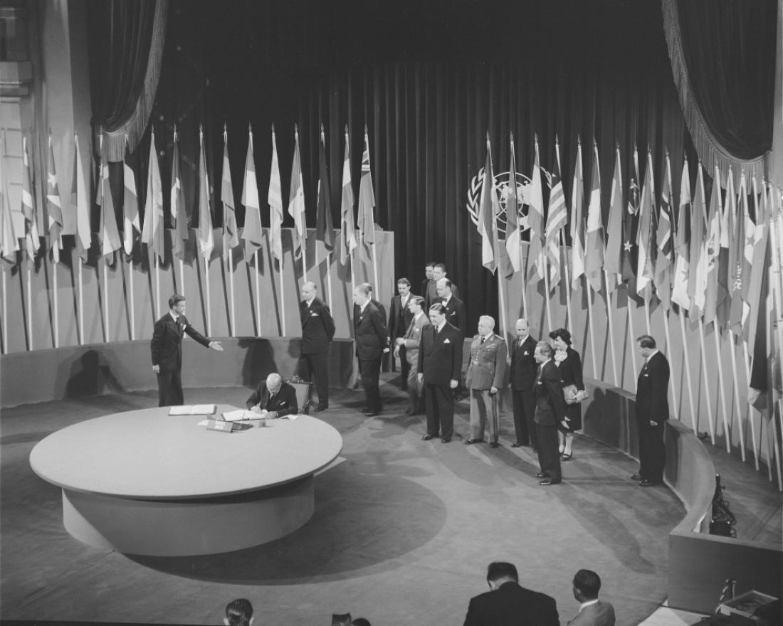 Σαν σήμερα 26Ιουνίου 1945ιδρύεται επίσημα ο ΟΗΕ