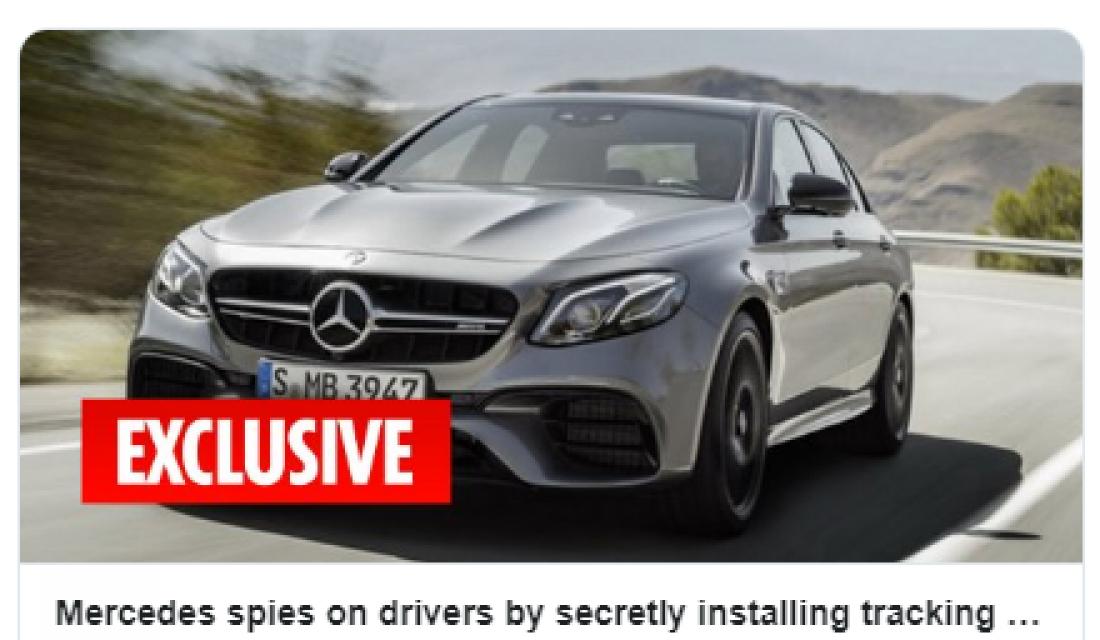 Απίστευτη καταγγελία: Η Mercedes έχει βάλει κοριό σε μοντέλα της