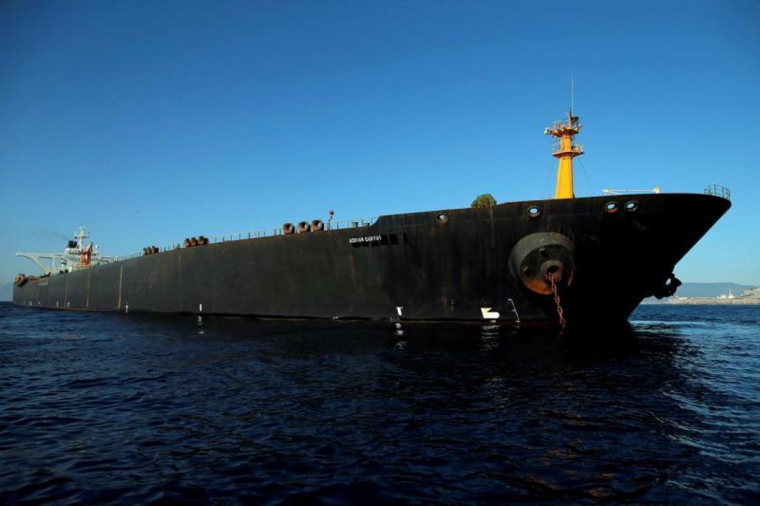 Adrian Darya 1: Ο νέος ιδιοκτήτης του φορτίου πετρελαίου θα αποφασίσει τον προορισμό του τάνκερ