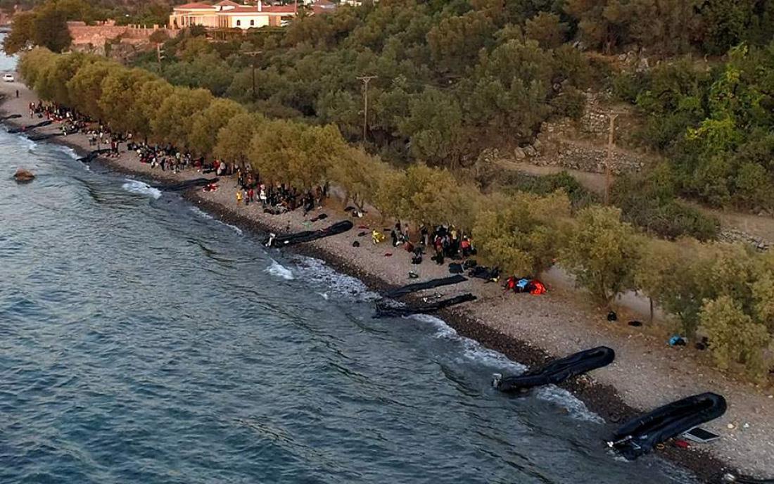 Στην επανάληψη των ημερών του 2015 με τις μαζικές προσφυγικές ροές και τις σκηνές που εκτυλίσσονται στη Λέσβο αναφέρεται ρεπορτάζ της γερμανικής εφημερίδας Bild, που εκτιμά, επικαλούμενο και τη γνώμη Ελληνα αξιωματούχου, ότι το νέο κύμα αφίξεων από την Τουρκία οφείλεται πιθανότατα σε παιγνίδι εξουσίας του Ερντογάν  «Το Λιμενικό απαρίθμησε 13 μικρά σκάφη που μετέφεραν 546 άτομα. Τριάντα δύο άτομα σε άλλο σκάφος διασώθηκαν στη θάλασσα και μεταφέρθηκαν στη Λέσβο. Εξήντα πέντε άτομα μεταφέρθηκαν στο νησί της Κ