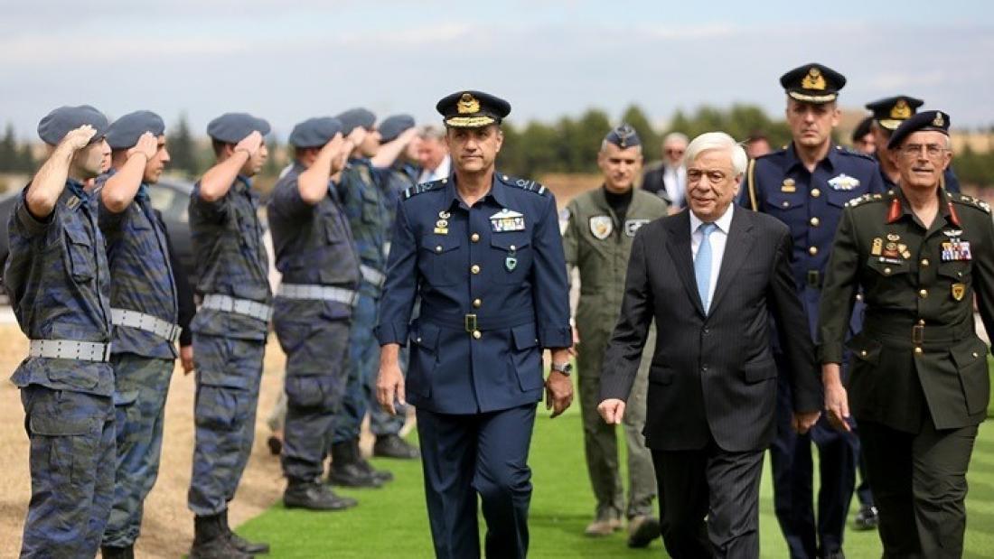 Ηχηρό μήνυμα Παυλόπουλου προς πάσα κατεύθυνση για την Ελληνική Πολεμική Αεροπορία