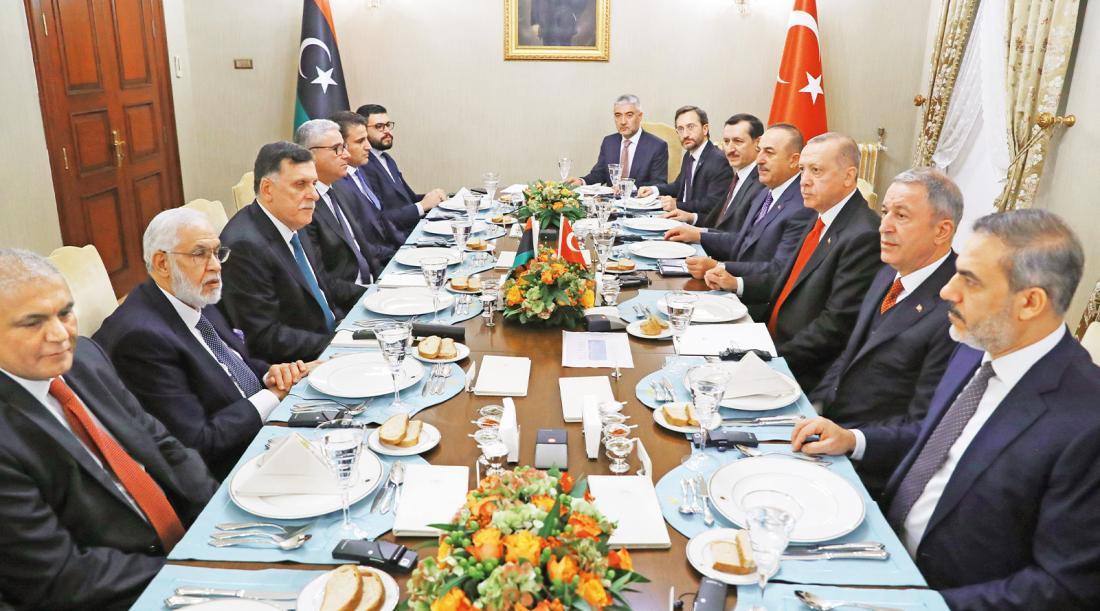 """Πανηγυρίζουν οι Τούρκοι για τη συμφωνία με τη Λιβύη: """"Χαλάσαμε το παιχνίδι στη Μεσόγειο"""""""